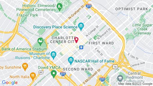 Omni Charlotte Hotel Map