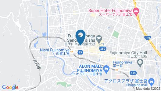 Rakuten STAY HOUSE x WILL STYLE Fujinomiya Map