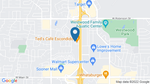 Courtyard by Marriott Norman Map