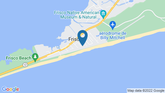 Beachbux 3 Bedroom Cottage Map