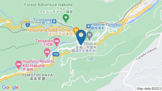 Hakone Airu Map