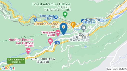 Hakone Pax Yoshino Map