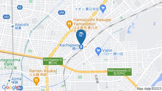 Hotel Plaza Kachigawa Map