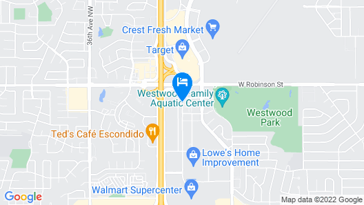 Motel 6 Norman, OK Map