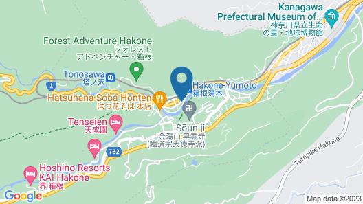 Yumoto Station Hotel MIRAHAKONE Map