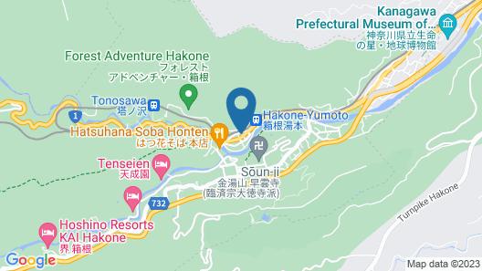 Tsukino Yado Sara Map
