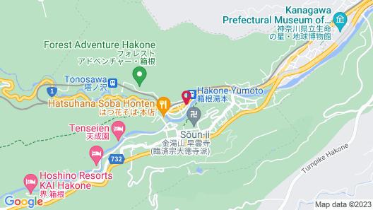Hakone Suimeisou Map