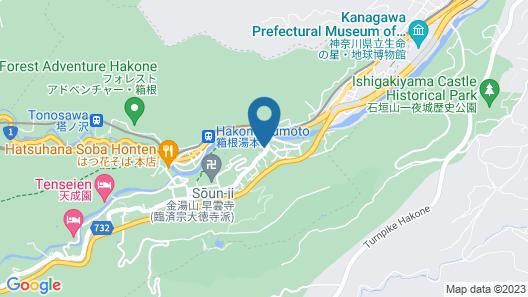 Guest Villa Hakone Yumoto 1F Map