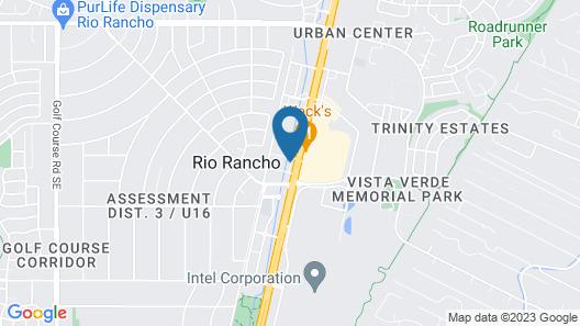 Howard Johnson Rio Rancho/albuquerque North Map
