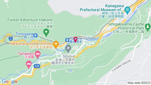 Yumoto Fujiya Hotel Map