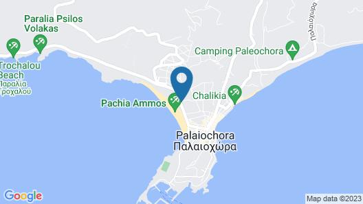 Relax Apartments & Studios Map