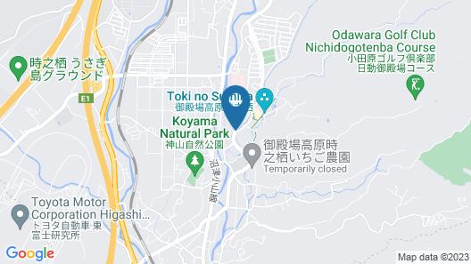 GOTEMBA KOGEN HOTEL Map