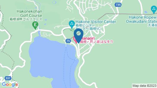 HAKONE ASHINOKO HANAORI Map