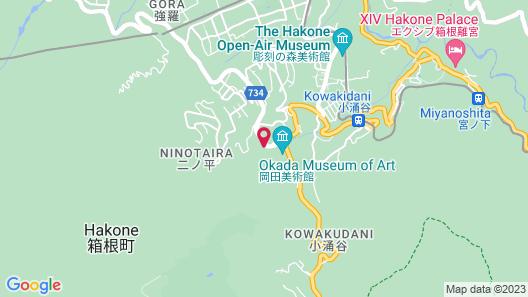 Hakone Kowakien TEN-YU Map