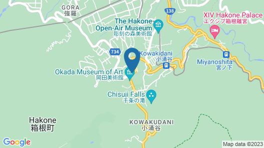 Hakone Kowakien Miyamafurin Map