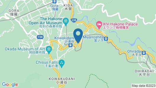 Art and Music Spa Resort Manatei Hakone Map