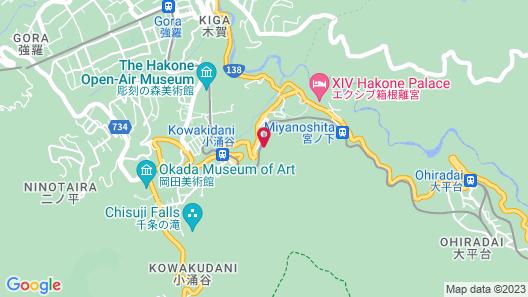 Musashino Bekkan Map