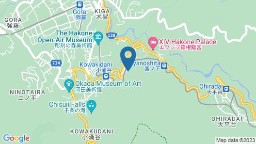 Hakone Tokino Shizuku Map