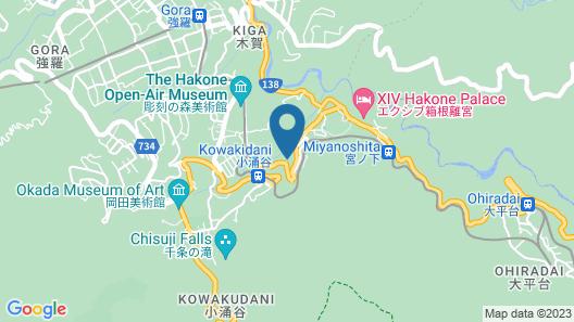 Shiki Resorts Villa Hakone 80 Map