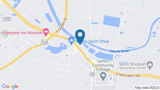 Nation's Inn Kinston Map