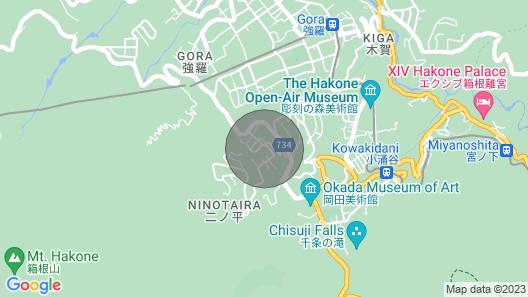 Hakone Villa With Private Onsen Ryokan Style / Ashigarashimo-gun Kanagawa Map