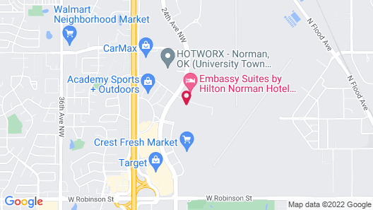 Holiday Inn Express & Suites Norman, an IHG Hotel Map
