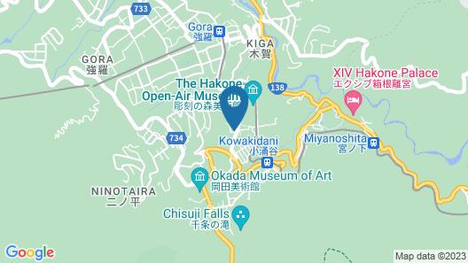 Papillon Paradis Hakone Map