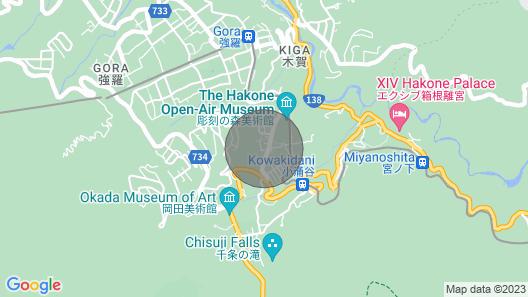 Hakone Paradise Butterfly / Ashigarashimo-gun Kanagawa Map