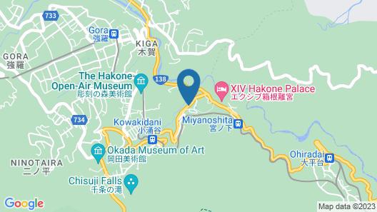 Onsen Guesthouse Tsutaya - Hostel Map