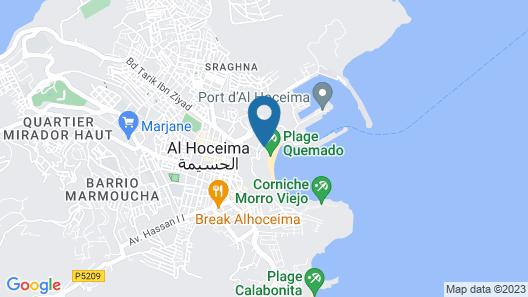 Mercure Quemado Resort Map