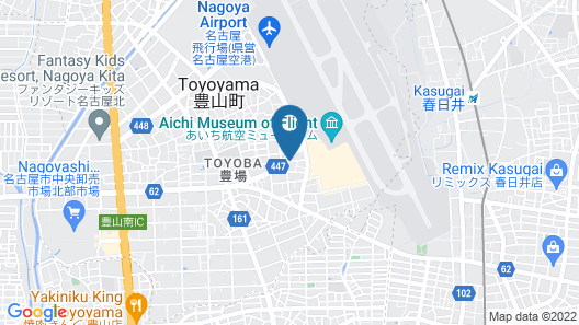 Business Hotel Fiz Nagoya Airport Map