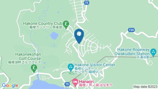 Ryokan Choju-yu Hakone Sengokubara Map