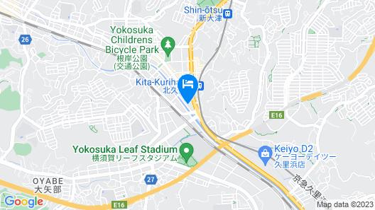 Hotel AQUA Blue Yokosuka - Adults Only Map
