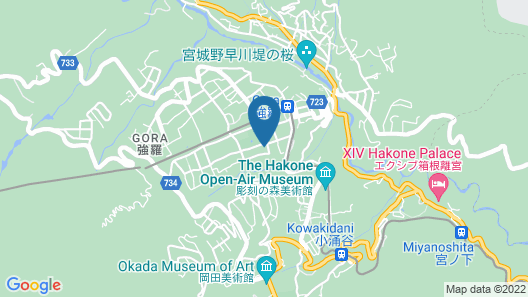 Merveille Hakone Gora Map