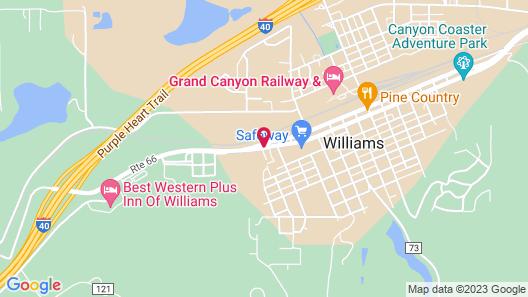 Comfort Inn Near Grand Canyon Map