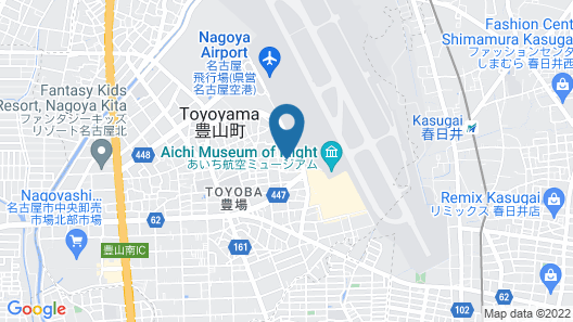 Business Hotel Airline Map