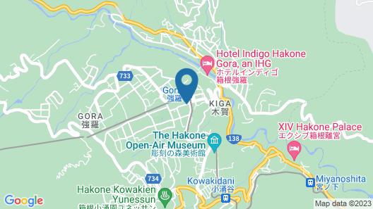 HAKONE Setsugetsuka Map