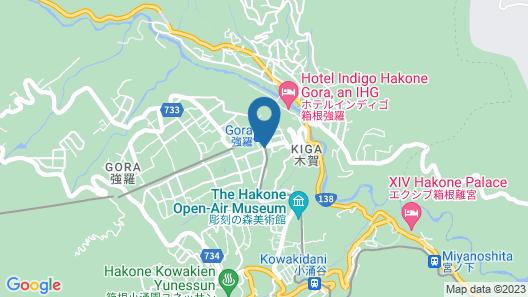 Hakone Yutowa Map