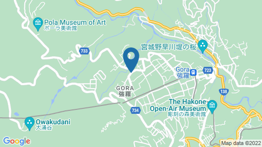 Hyatt Regency Hakone Resort and Spa Map