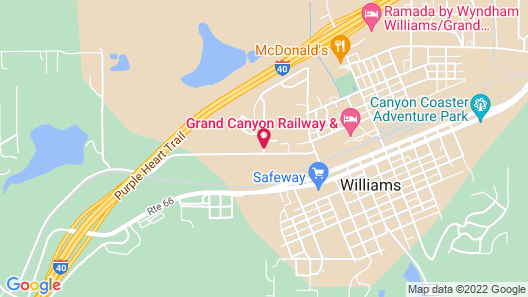 La Quinta Inn & Suites by Wyndham Williams-Grand Canyon Area Map