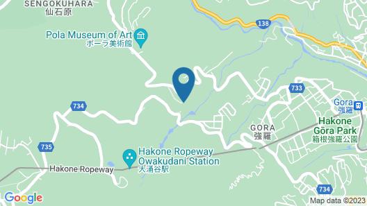 Kanaya Resort Hakone Map
