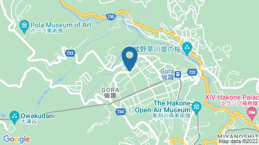Laforet Club Hakone Gora Yunosumika Map