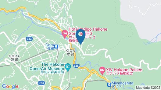Hakone Miyagino House Map