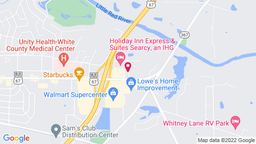 Holiday Inn Express Inn & Suites Searcy, an IHG Hotel Map
