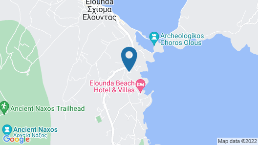 Elounda Bay Palace, a Member of the Leading Hotels of the World Map