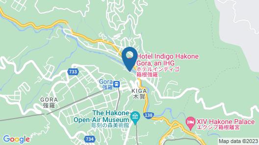 Hotel Indigo Hakone Gora Map