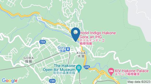 Hotel Indigo Hakone Gora, an IHG Hotel Map
