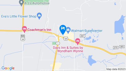 Nationwide 9 Inn Map