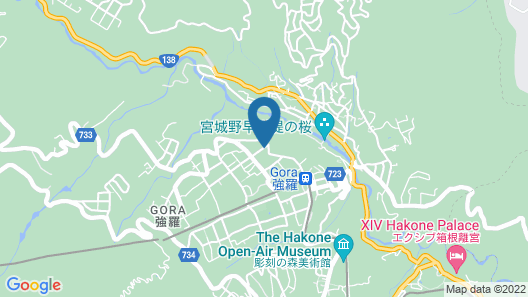 Hakone Morinoseseragi Map