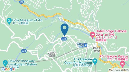 Ajisai Onsen Ryokan Map